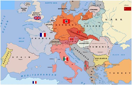 európa térkép magyarország Magyarország politikája a világháború elején európa térkép magyarország