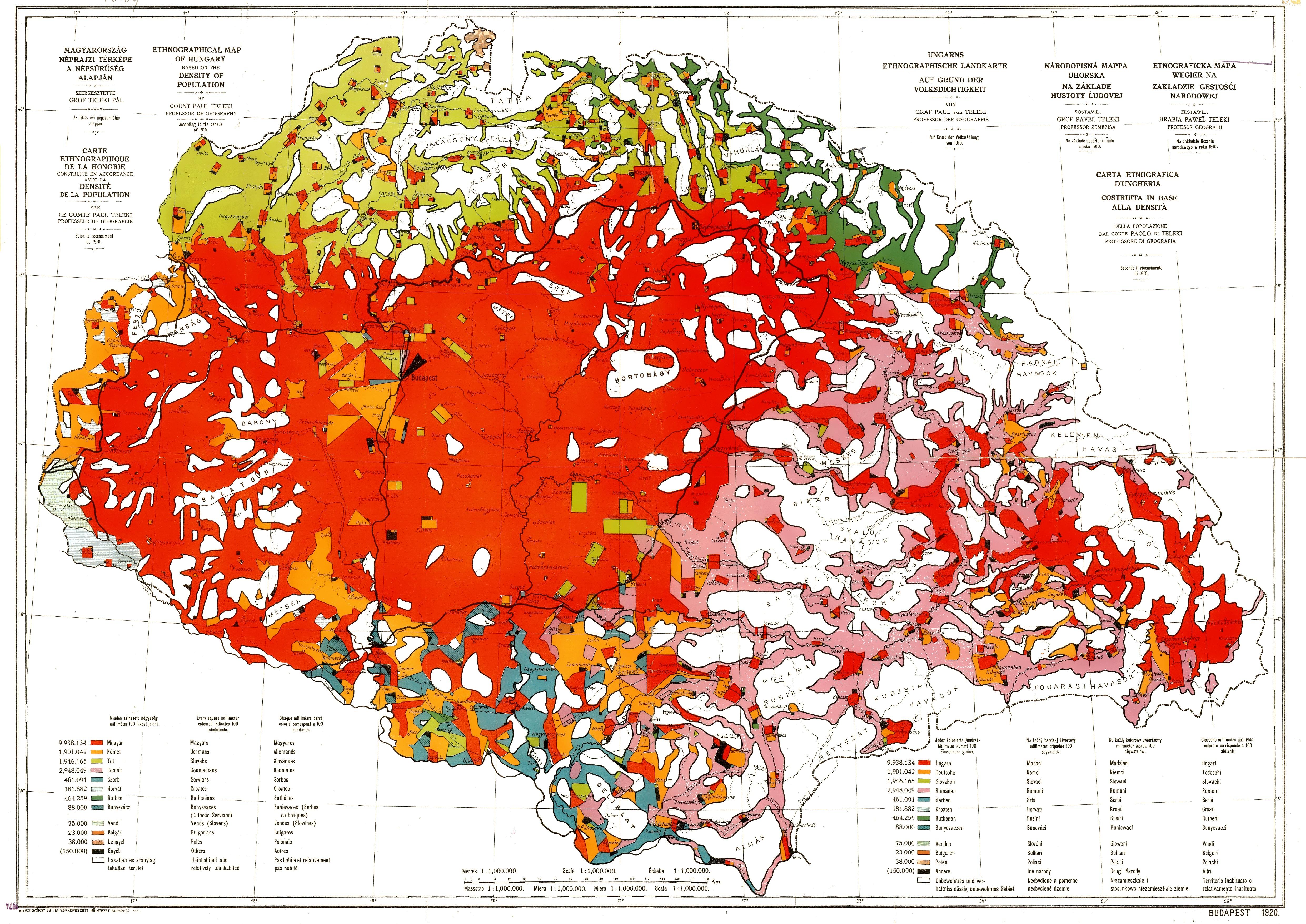 vörös térkép A